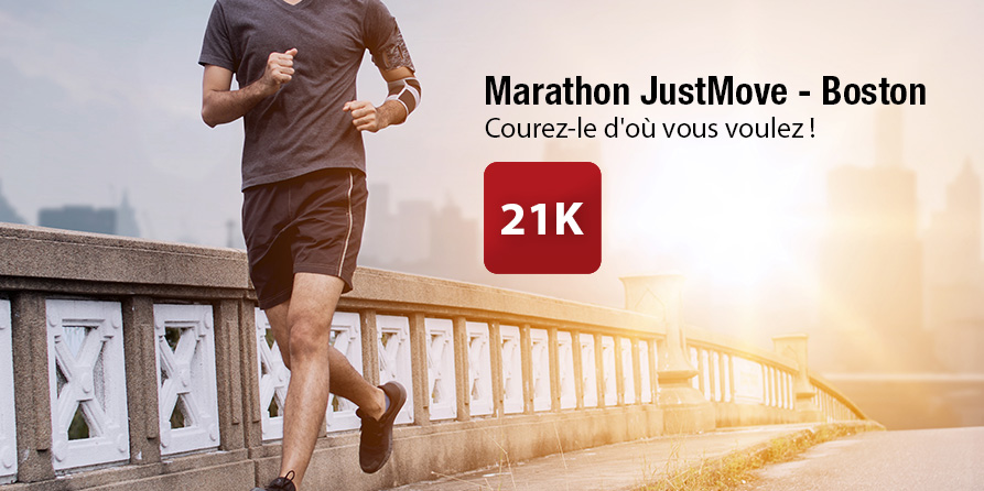 JustMove Marathon - Boston