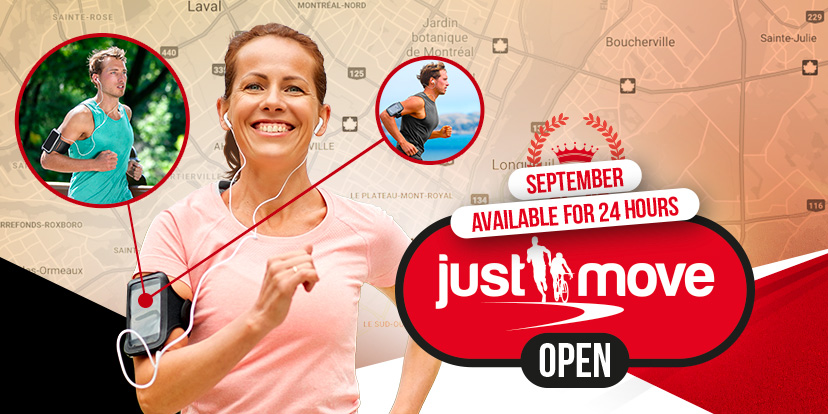 JUSTMOVE OPEN - SEPTEMBER